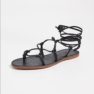 Madewell Boardwalk Lace Up Sandal